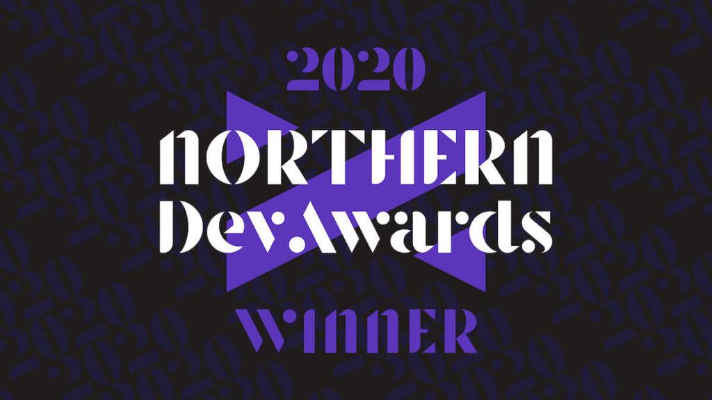 Northen Dev Awards 2020 winners logo