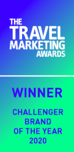 Won 'Challenger Brand of the Year' at the The Travel Marketing Awards 2020